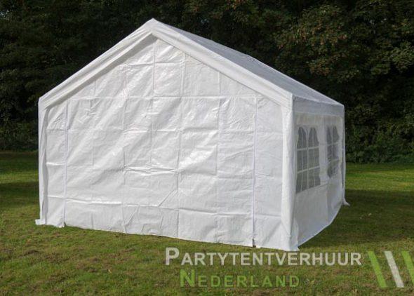Partytent 4x4 meter achterkant huren - Partytentverhuur Almere