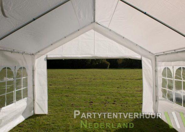 Partytent 4x4 meter binnenkant huren - Partytentverhuur Almere