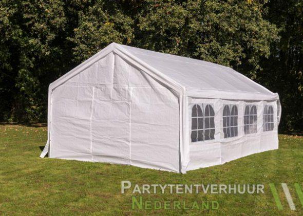 Partytent 4x8 meter achterkant huren - Partytentverhuur Almere