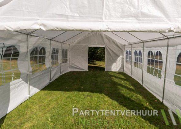 Partytent 4x8 meter binnenkant huren - Partytentverhuur Almere