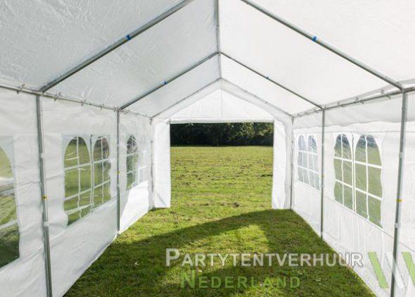 Partytent 3x6 meter binnenkant huren - Partytentverhuur Almere