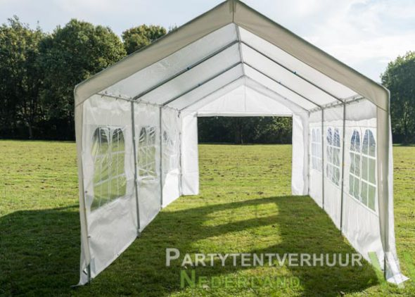 Partytent 3x6 meter open huren - Partytentverhuur Almere