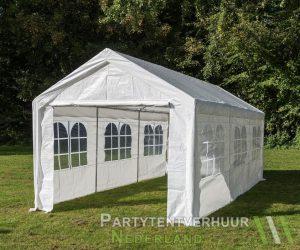 Partytent 3x6 meter zijkant huren - Partytentverhuur Almere
