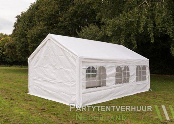 Partytent 4x6 meter achterkant huren - Partytentverhuur Almere