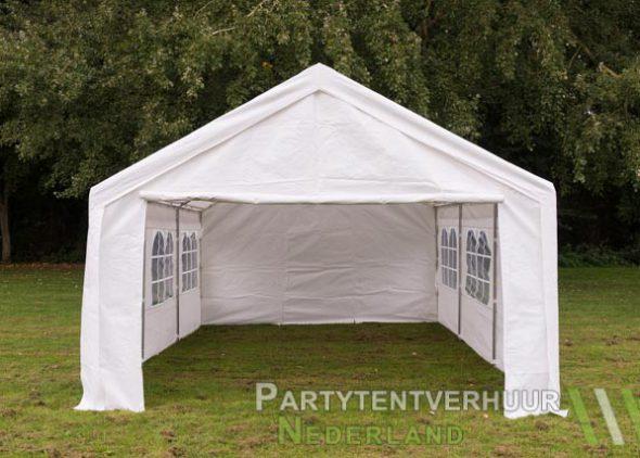 Partytent 4x6 meter voorkant huren - Partytentverhuur Almere