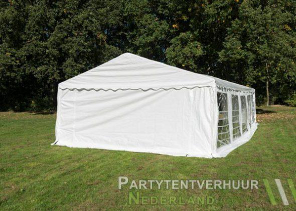 Partytent 5x10 meter achterkant huren - Partytentverhuur Almere