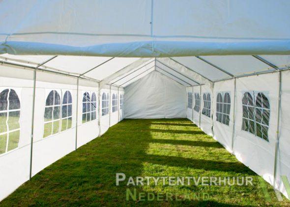 Partytent 6x12 meter binnenkant huren - Partytentverhuur Almere