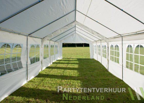 Partytent 6x12 meter binnenkant open huren - Partytentverhuur Almere