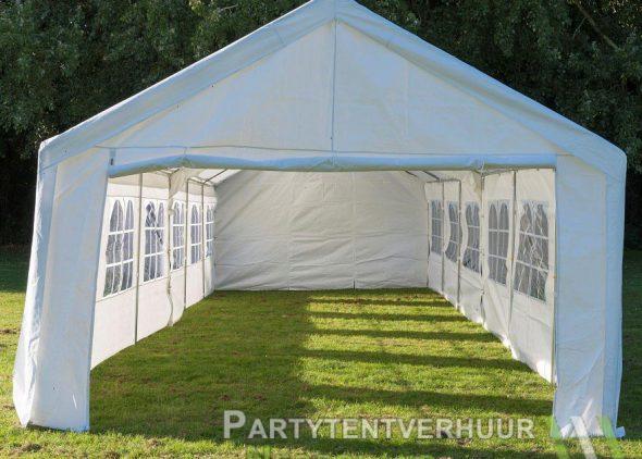 Partytent 6x12 meter voorkant huren - Partytentverhuur Almere