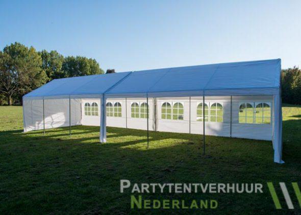 Partytent 6x12 meter zijkant open huren - Partytentverhuur Almere