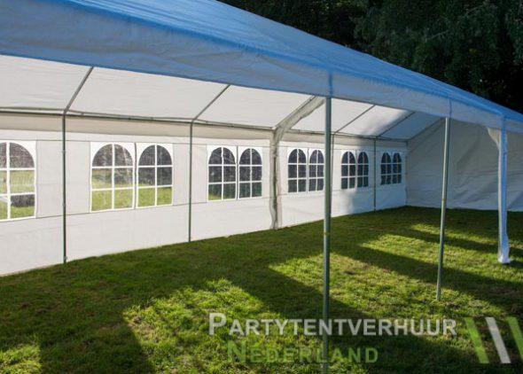 Partytent 6x12 meter zijkant rechts open huren - Partytentverhuur Almere