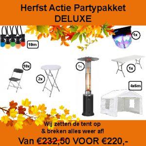 Herst actie pakket huren in Almere