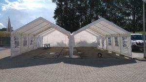 Huren van een 10x11 tent in Almere
