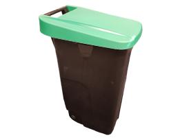 Afvalbak 110 L - Partytentverhuur Flevoland