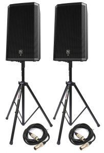 Electro voice op statief Partytentverhuur Flevoland