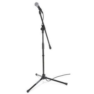 Microfoon met statief Partytentverhuur Flevoland
