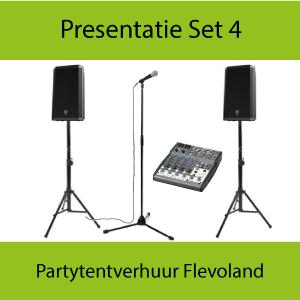 Huur presentatiespeakers en microfoons in Almere