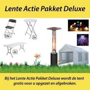 Huur het lente deluxe actie pakket in Almere