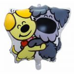 Mini folie ballon woezel en pip Flevoland