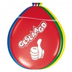 Multi kleur geslaagd ballonnen Flevoland