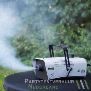 Rookmachine actiefoto huren - Partytentverhuur Flevoland